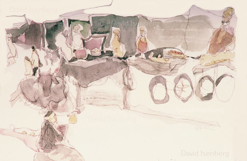 Travel Sketch, India