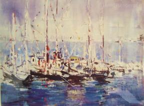 Boats at Monterey, Ca.