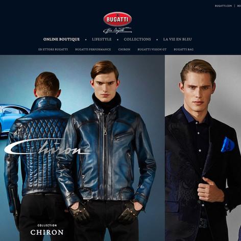 Bugatti Lifestyle Website & E-Commerce