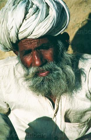 Old Man, Rajasthan, India