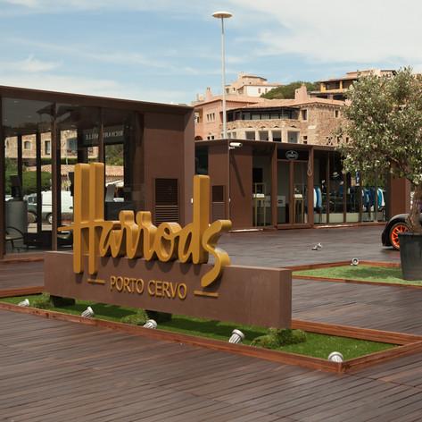 Bugatti & Harrods Temporary Store in Porto Cervo 2014