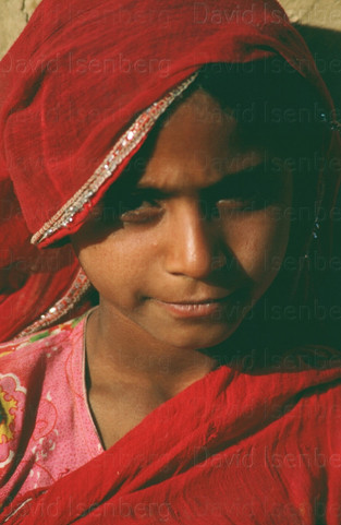 Young Girl, Rajasthan, India