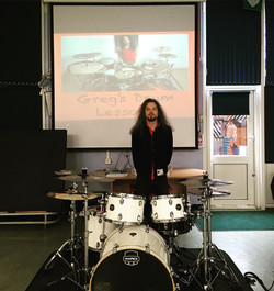 Greg's Drum Lessons