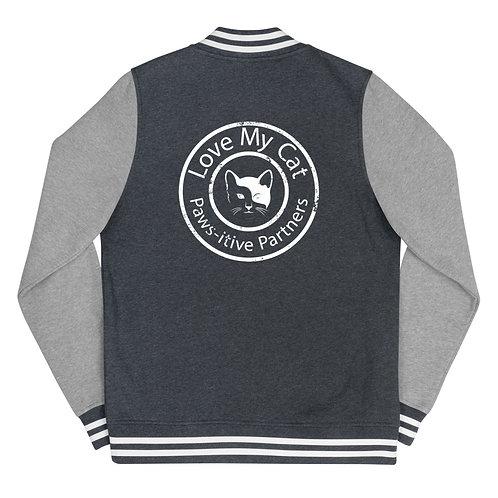 Love My Cat Women's Letterman Jacket