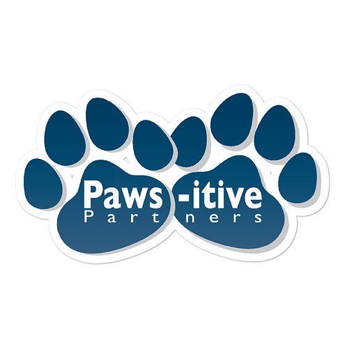 Paws-itive Partners Bubble-free stickers