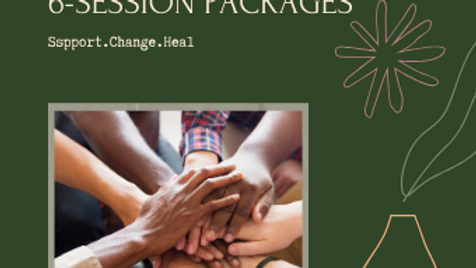 6 Session Package - Individual Sessions