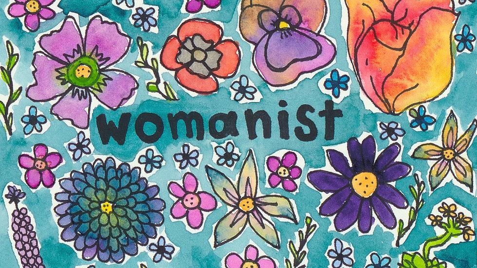 "eco-womxnist postcard print (4x6"")"