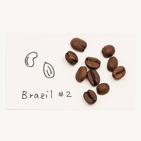 ブラジル #2 中深煎り 100g
