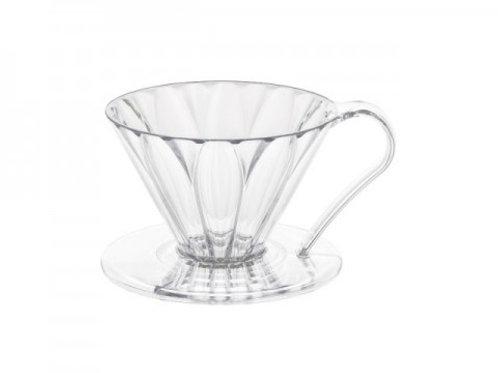 樹脂製 円すいフラワードリッパー cup1 1杯用 メジャースプーン付き