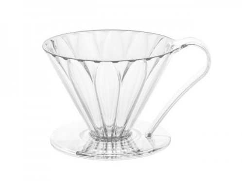 樹脂製 円すいフラワードリッパー cup4 2~4杯用 メジャースプーン付き