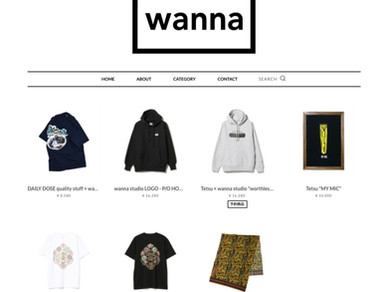wanna studio FACTORY STORE