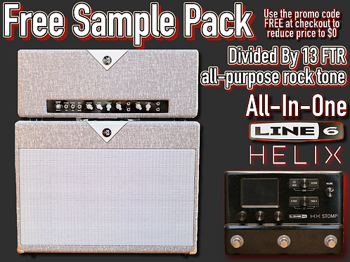 Helix - Free Sample Pack: Divided By 13 FTR