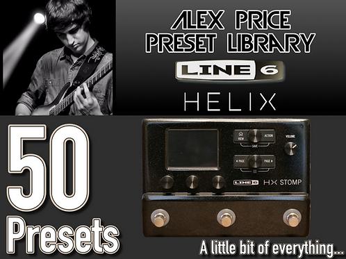 Helix - Complete Preset Library sampler