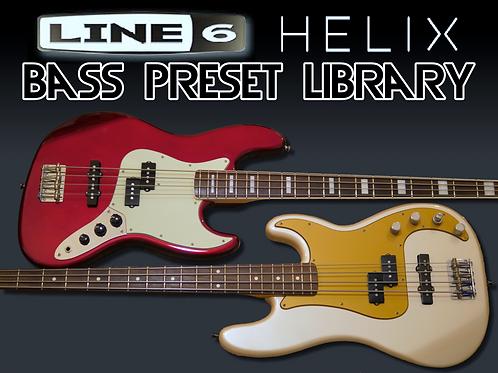 Helix - Bass Preset Library