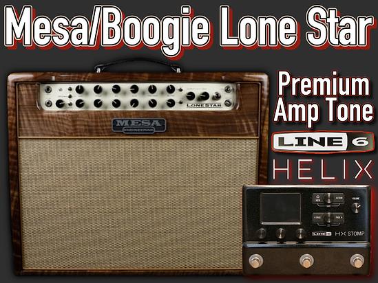 Line 6 Helix Premium Amp Tone - Mesa Boogie Lone Star