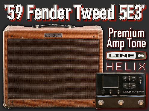 Helix - 1959 Tweed 5E3 Premium Amp Tone