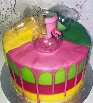 Slime Drip Cake