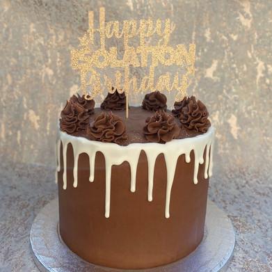 Isolation Birthday Cake