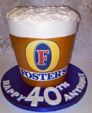 Fosters Cake