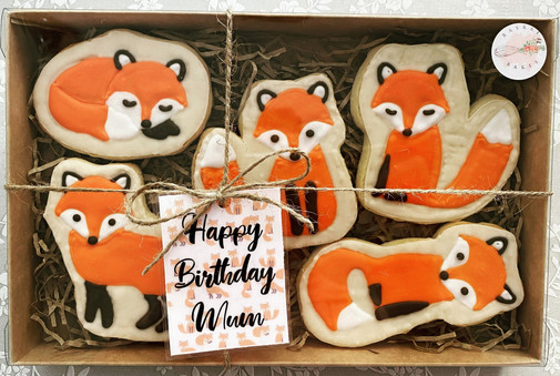 Fox Cookie Gift Set
