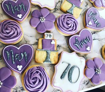 Personalised Birthday Cookies