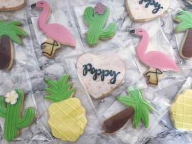 Tropical / Love Island Cookies