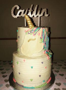 Stacked Unicorn Cake