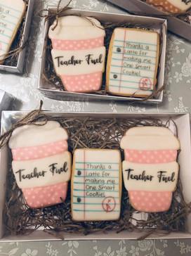 Teacher Gift Cookies