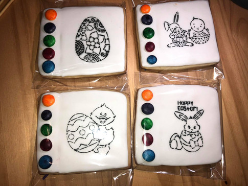Easter Paint Your Own Cookies