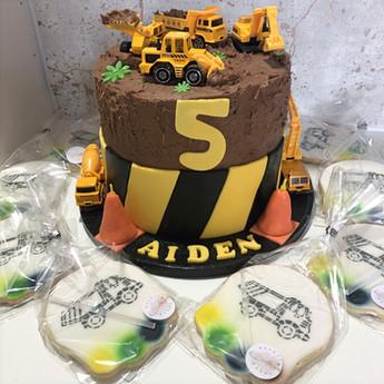 JCB Digger Cake