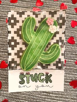 """Stuck on you""  Valentine's Cookies"