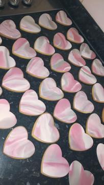 Marble Wedding Cookies
