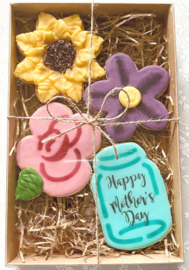 Floral Bouquet Mother's Day Cookies
