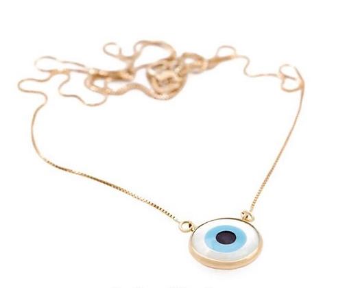 Gargantilha olho grego