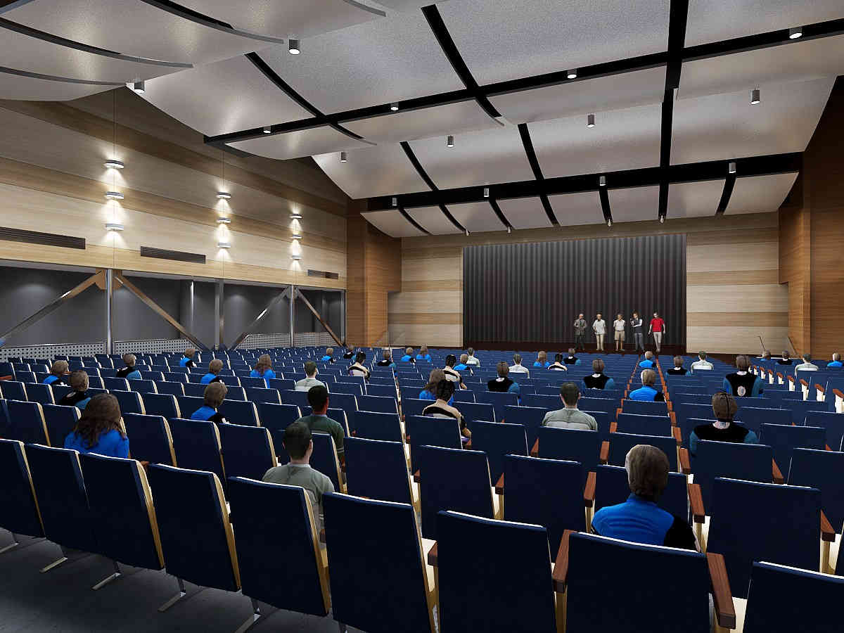 Rowland High School New Performing Arts Complex