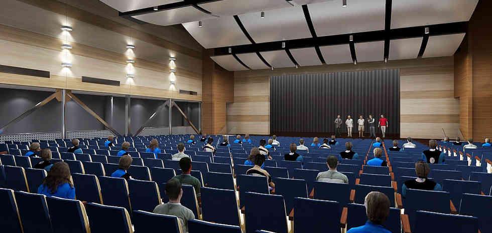 Rowland High School New Performing Arts Complex