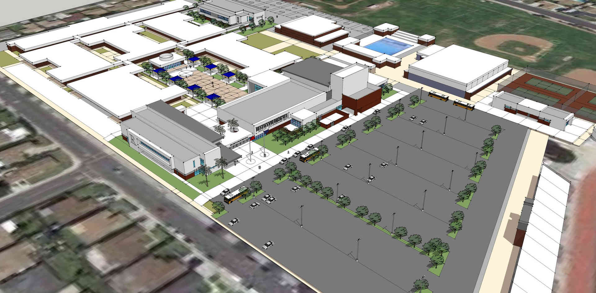 New Rowland High School Campus Project