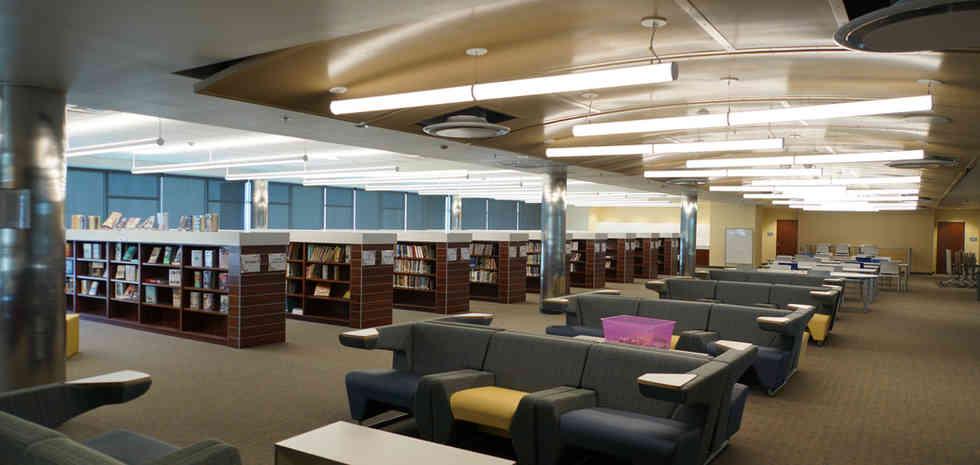 Rowland High School New Library