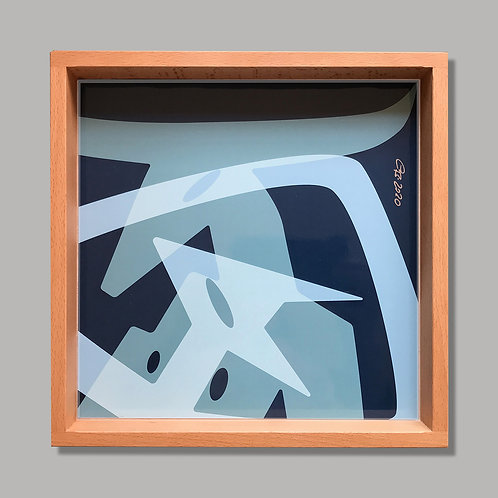 "Tablett ""Elsie & Vinotaurus_Petrol"""