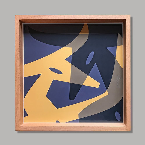 "Tablett ""Vinotaurus & Vinotaurus_Gold"""