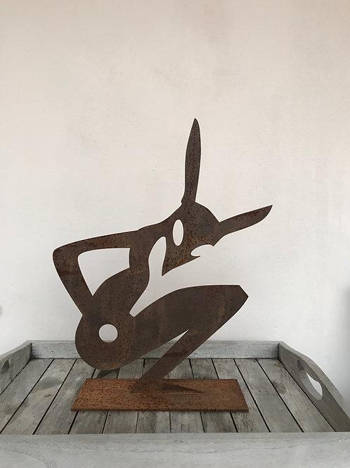 "Skulptur ""KLEINER ALIEN"""