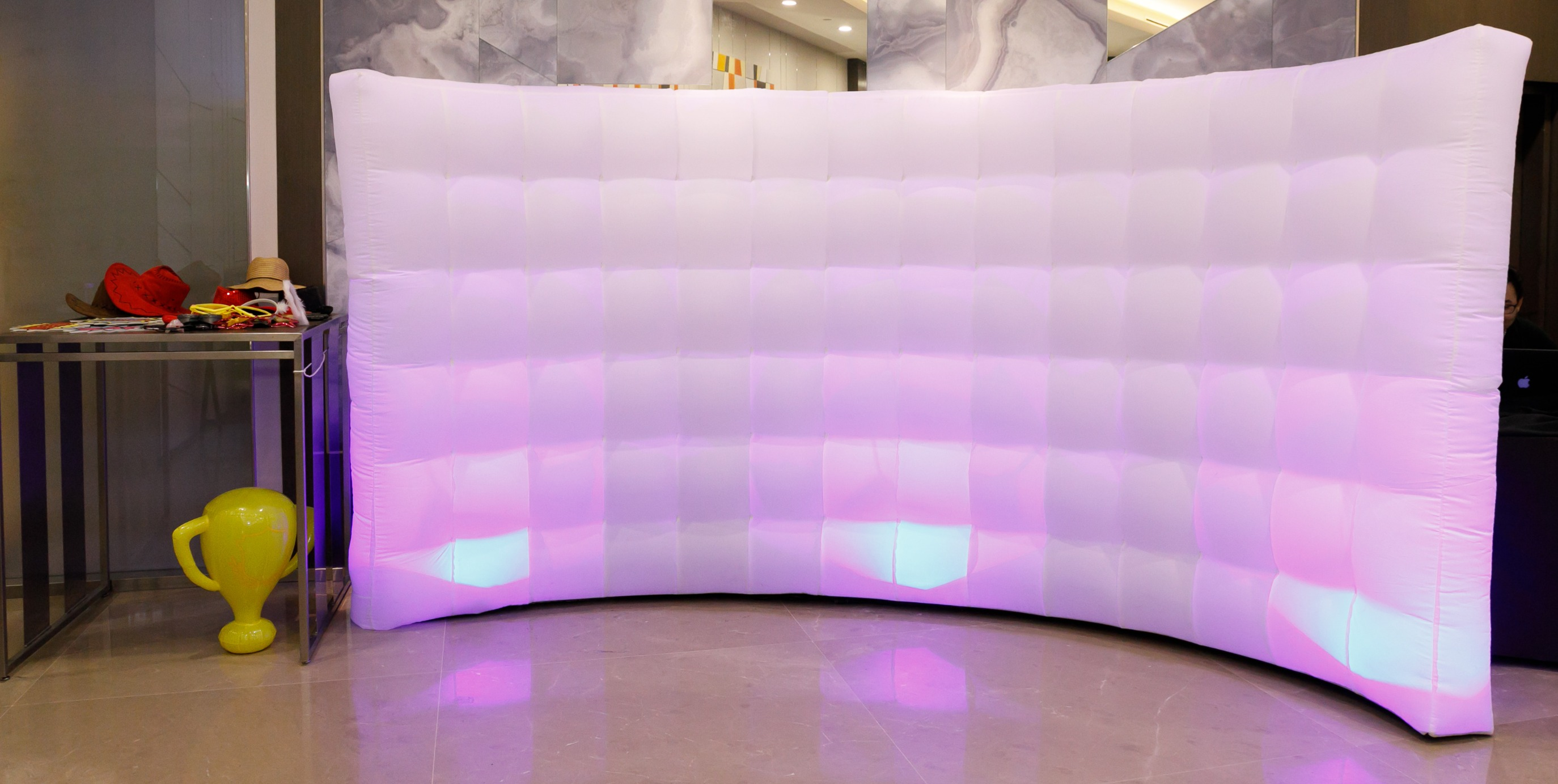 Inflatable Photo Wall