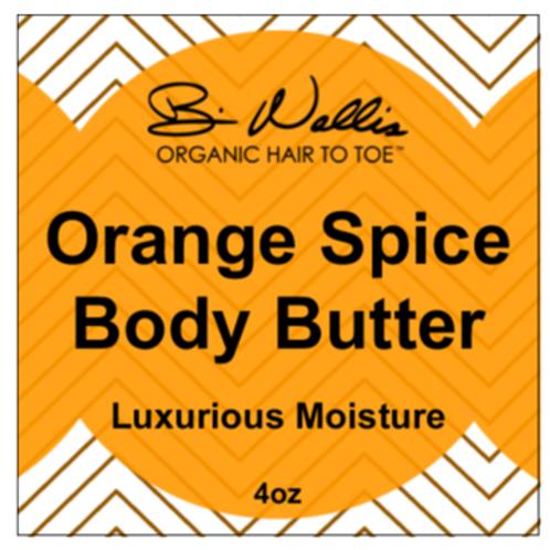 Orange Spice Body Butter