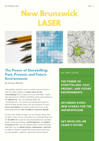LASER Newsletter pt. 1