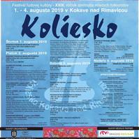 Koliesko Kokava nad Rimavicou - 3.8.2019