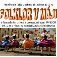 Folklor v Máji Telč 2019 - 18.5.2019