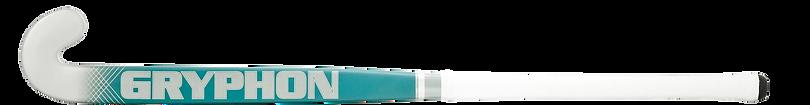 BEST FEILD HOCKEY STICK GRYPHON CHROME DIABLO TEAL G19 front, cushion grip