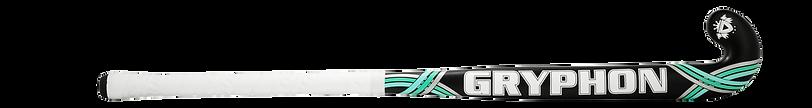 BEST FIELD HOCKEY STICK GRYPHON SLASHER BLACK G19 back, cushion grip