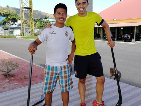 Creating a Hockey Federation in the world's second youngest country, Timor Leste