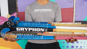 GRYPHON start a Hockey Equipment Recycle Program with ambassadors in Australia